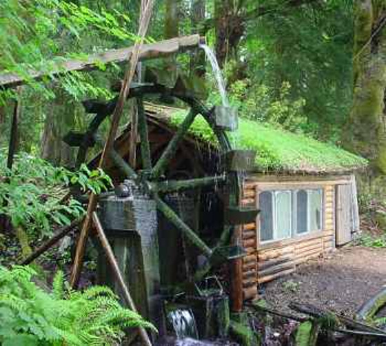 Microhydro power endless power for off the grid reach for Living off the grid house plans
