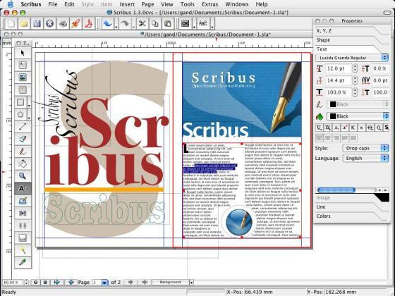 scribus templates Gallery