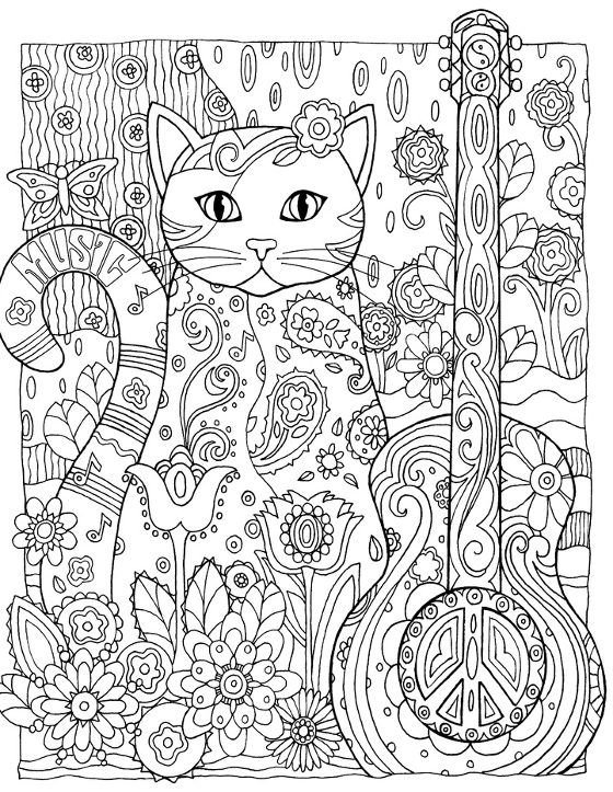 Colouring book pdf adults